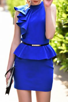 9f4c95c53 149 Best Royal Blue and White Fashion images in 2018 | Royal blue ...