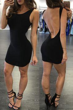 New Arrivals Sexy Club Dress 2016 Open Back Bandage Dress Evening Party Short Dress Sleeveless Summer Sundresses