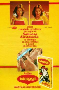 Caldos Maggi, años 80s