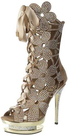 Fashion Bug Womens Plus Size Fantasia-1020 Platform Sandal www.fashionbug.us #PlusSize #FashionBug #Shoes