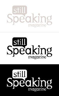 StillSpeaking Magazine Logo Design