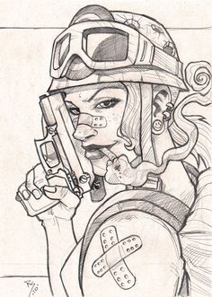 Tank Girl by Rui Silveria