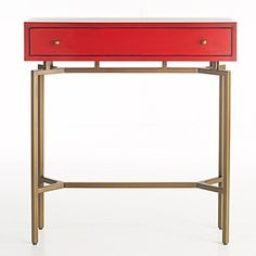 """Mitchell Gold + Bob Williams """"Ming"""" Console - Furniture - More For The Home - Home - Bloomingdale's Modern Furniture, Home Furniture, Furniture Design, Console Furniture, Eclectic Furniture, Console Tables, Mitchell Gold, Modern Side Table, Decoration"""