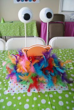 Cute Monsters Birthday Party Ideas | Photo 3 of 50 | Catch My Party