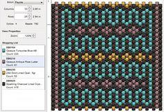 peyote+stitch+patterns   free peyote stitch beading pattern