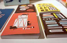 print & pattern features polkka jam notebooks