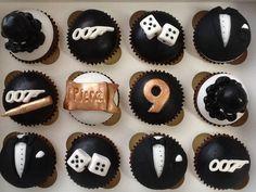 James Bond Cupcakes - Cake by Dinki Cupcakes