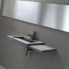 strakke netonlook Wastafel Model 8045 | BALANCE | via mozaiek utrecht verkrijgbaar