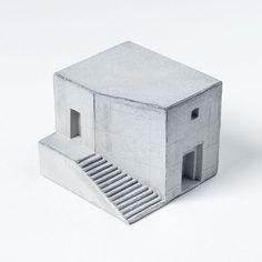 Maison de béton miniature 3