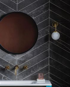 """Mandarin Stone on Instagram: """"I've just written a new blog post about 'Embracing Natural Variation,' link in bio. It seems we're striving less for absolute consistency &…"""" Mandarin Stone, Black Bath, Back To Black, News Blog, Kitchen And Bath, Vanity, Consistency, Rebel, Bathroom Ideas"""