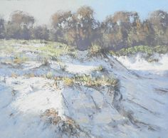 BROULEE DUNE oil on board 24-20 =inch