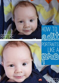 #Photography Tips // How To Edit Portraits Like A Pro (Photoshop) by Meg Padgett from Revamp Homegoods #photography