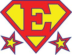 add your own letter inspired by superman s logo superman rh pinterest com superman logo with different letters m superman logo with letters
