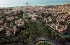 Al Qasr is 1 of 2 boutique hotels that are part of the Madinat Jumeirah resort.