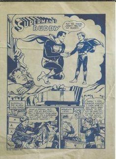 1954 Supermans Buddy Printers Proof Comic Book DC Official Reprint @ niftywarehouse.com
