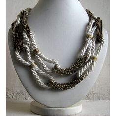 Hey, I found this really awesome Etsy listing at http://www.etsy.com/listing/153728421/white-necklacestatement-necklacelong