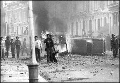 Brixton Riots, 10-12th April 1981 A housing waiting list, in the borough in which Brixton is situated, of 18,000; a third of the housing stock sub-standard; high unemployment with about 2 out of 3 of the unemployed being black; a high robbery rate (in fact the highest in London, it being twice the nearest figure); next to no social amenities. This is all very true.  Brixton riot. Pic courtesy: Met Police