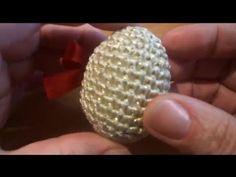 Пасхальное яйцо Вязание крючком Crochet: EASTER EGG