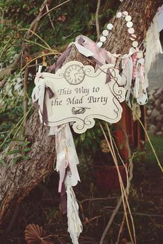 Alice in Wonderland Birthday Party Ideas | Photo 2 of 38 | Catch My Party