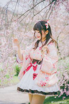 Japanese Kimono Lolita Dress