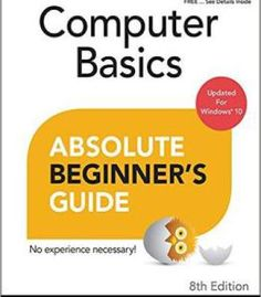 Computer Basics Absolute Beginner'S Guide Windows 10 Edition PDF