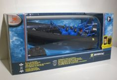 New Bright Remote Control Zodiac 27 MHz by New Bright. $49.95. Make some summer fun with the Remote Control Zodiac Boat by New Bright. This full function radio control boat will make the perfect afternoon toy for your little ones in the pool this summer!  For ages 8 and up!