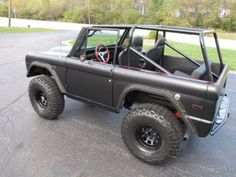 Exterior and Interior - 1974 Ford Bronco 4x4