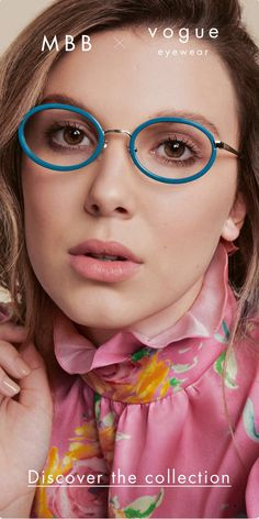 Brown Glasses, Eye Glasses, Bobby Brown Stranger Things, Celebrity Magazines, Browns Fans, Color Lenses, No Photoshop, Millie Bobby Brown, Colourful Outfits