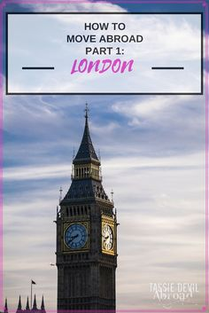 how to move abroad - London