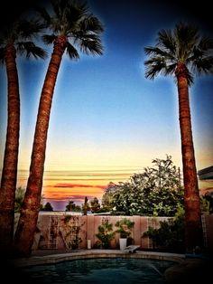 Desert Sky. #Phoenix