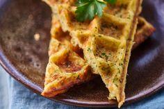Cheesy Potato and Herb Waffles Recipe