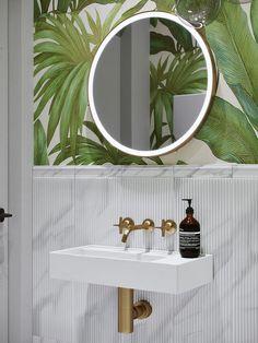 12 besten Tapeten im Badezimmer Bilder auf Pinterest in 2018 ...