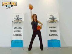 Cheerleading Pom/Dance Routine 1 - Intermediate Level