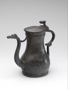 Our collection consists of more than objects, of which over can be found online. Medieval Furniture, Zinn, Acanthus, Everyday Objects, Household Items, Cast Iron, Tea Pots, Museum, Pottery