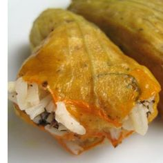 Kolokitholoulouda yemista (stuffed zucchini flowers) | Food24. You have not lived until you've tasted stuffed zucchini blossoms!