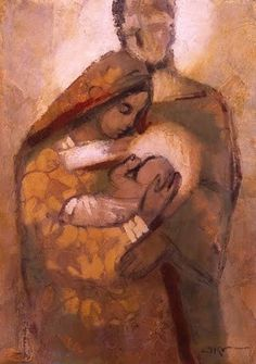 Holy Family - Giclee Print by J. Kirk Richards
