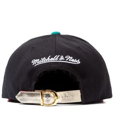 95f2659afb1 The Genesis Project Vancouver Grizzlies Blue Navajo Strap-Back Hat  Hypebeast
