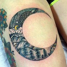 Magical Moon Tattoo Designs (5)