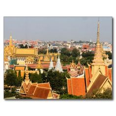 Postcard Royal Palace at Phnom Pehn - Cambodia Cartes Postales
