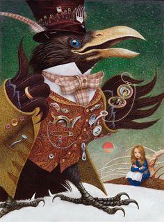 Коли в серці живе казка: приголомшливі ілюстрації українського художника Владислава Єрка   ВСВІТІ