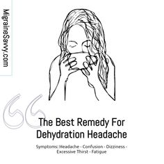 Does dehydration trigger a headache? Can salt or celery juice help? Come get my top tips to stay properly hydrated @migrainesavvy Causes Of Migraine Headaches, Migraine Art, Headache Symptoms, Migraine Relief, Migraine Pressure Points, Celery Juice, Self Help, Remedies, Good Things
