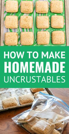 Recipes Snacks Lunch Ideas DIY Uncrustables Sandwiches -- make these perfectly portable frozen PB&J sandwiches part of your weekly meal prep day. And YOU control the quality of the ingredients. Great for road trips, vacation, as well as packed lunches! Lunch Snacks, Clean Eating Snacks, Lunch Recipes, Baby Food Recipes, Healthy Snacks, Healthy Recipes, Work Lunches, Easy Recipes, Lunch Box