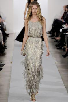 Oscar de la Renta Pre-Fall 2013 Fashion Show - Josephine Skriver