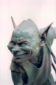 David Goode goblin sculpture detail