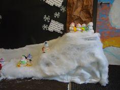 Literacy Night hall decoration for Snowmen at night