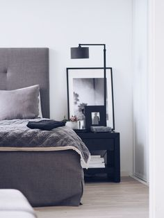 A little sneakpeek - Camilla Pihl Bedroom Inspo, Home Bedroom, Master Bedroom, Decor Room, Bedroom Decor, Home Decor, Interior Minimalista, Awesome Bedrooms, Minimalist Interior