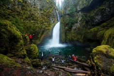 Located in the stunning Columbia River Gorge, this beautiful, easy hike to Wahclella Falls will blow you away.