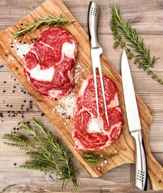 Raw fresh beef meat by LiliGraphie on Creative Market