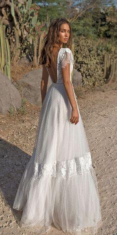 Boho Wedding Dresses Of Your Dream ❤️ See more: http://www.weddingforward.com/boho-wedding-dresses/ #weddingforward #bride #bridal #wedding