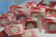 Star Stencil, Stencils, Christmas Cards, Xmas, Flea Market Finds, Winter Solstice, Yule, Diy Cards, Gift Tags